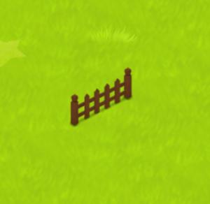 ほしの島のにゃんこ柵2本