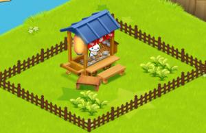 ほしの島のにゃんこ柵で囲ったお店にぺんぺん草
